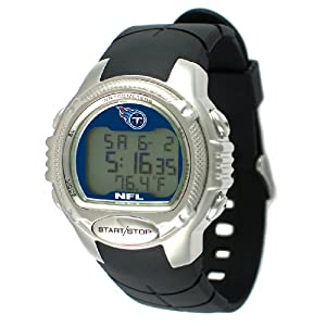 NFL Mens NFL-PRO-TEN Pro Trainer Series Tennessee Titans Watch by Game Time