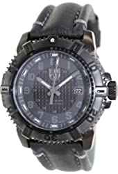 Luminox Modern Mariner Blackout Leather Mens Watch 6251.BO
