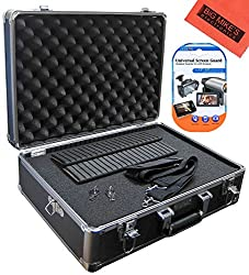 Deluxe Small Photo And Video Hard Case For Canon XA10 XA20 XA25 XF100 XF105 XH A1 XH A1S XH G1 XH G1S XF300 XF305 Camcorder + More!!