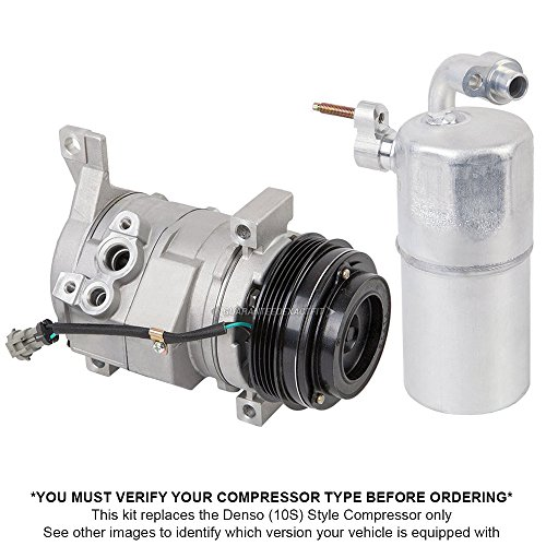 Premium Quality New Ac Compressor & Clutch With A/C Drier For Chevy & Gmc Truck - BuyAutoParts 60-86343R2 New (2001 Chevy Suburban Ac Compressor compare prices)