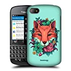 Head Case Designs Fox Flora And Fauna Hard Back Case Cover For BlackBerry Q10