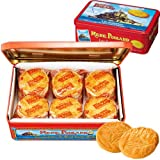 【フランス お土産】ラ・メール・プラール 缶入りガレットクッキー1缶(フランス クッキー)