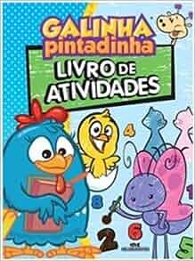 Galinha Pintadinha: Livro De Atividades (Em Portugues Do