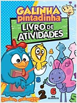 Galinha Pintadinha: Livro De Atividades (Em Portugues Do Brasil