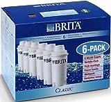 【並行輸入品】本家本元ドイツのブリタ(BRITA)クラシック(CLASSIC) 【新品大箱6個入り】ブリタクラシック浄水器ポット交換用カートリッジ 6個 日本の水がいっそう美味しくまろやかに!