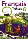 Terre des Lettres, Textes fran�ais 6e...