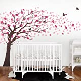 Cherry Blossom Tree - Elegant Style (Color Scheme B - Brown Tree)
