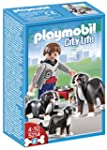 Playmobil - Mountain Dogs with Puppy...