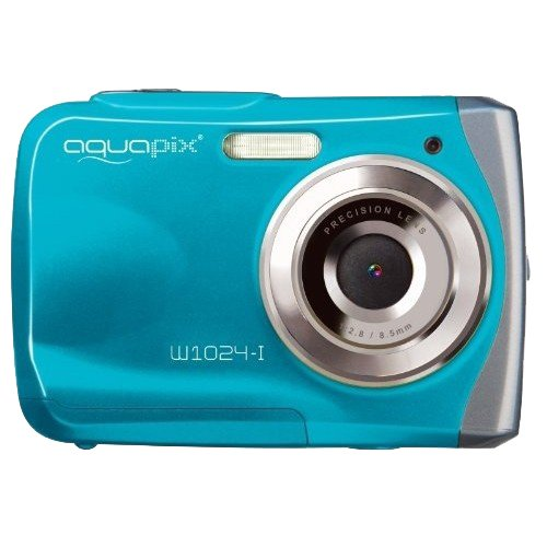 Easypix W1024-I Splash Digital Camera - Ice Blue