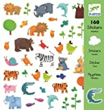 Djeco / 160-piece Animal Sticker Pack