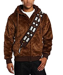 Star Wars Chewbacca Costume Hoodie Brown european adult size