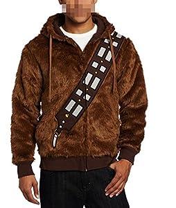 Star Wars Chewbacca Costume Hoodie Brown european adult size