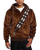 Daiendi Star Wars Chewbacca Costume Hoodie Brown european adult size