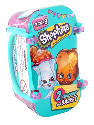 Shopkins Season 3 (2-Pack & Basket) JungleDealsBlog.com