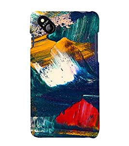 PrintVisa Painting Pattern 3D Hard Polycarbonate Designer Back Case Cover for Micromax Bolt D303
