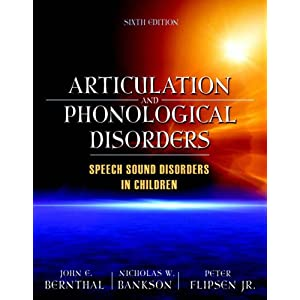 Articulation and Phonological Disorders 512iQdQIAQL._SL500_AA300_