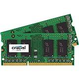Crucial 16GB Kit (8GBx2) DDR3 1866 MT/s (PC3-14900) SODIMM 204-Pin Memory - CT2K102464BF186D
