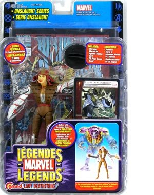 Marvel Legends Series 13 Lady Deathstrike (Bilingual) Action Figure