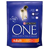 Purina ONE Adult Rich in Chicken and Whole Grains 300g (Pack of 6)