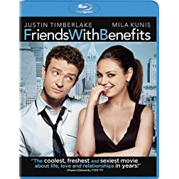 Friends with Benefits (+ UltraViolet Digital Copy) [Blu-ray]