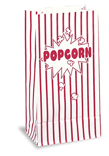 Red & White Striped Paper Popcorn Bags, 10ct (Red And White Popcorn Bags compare prices)