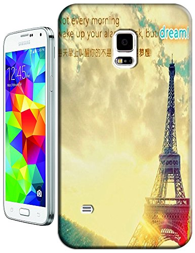Beautiful Eiffel Tower Paris Fashion Cell Phone Cases Design For Samsung Galaxy S5 I9600 No.8 front-522071