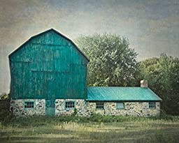 Rustic Barn Photography, Country Picture, Farmhouse Wall Art, 8x8 to 40x60 inches, Photographic or Watercolor Print