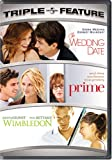 Wedding Date & Prime & Wimbledon [DVD] [Region 1] [US Import] [NTSC]