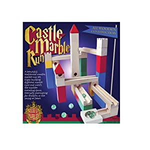 House of Marbles Wood Castle Marble Run