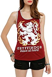 Harry Potter Gryffindor Brave At Heart Girls Tank Top