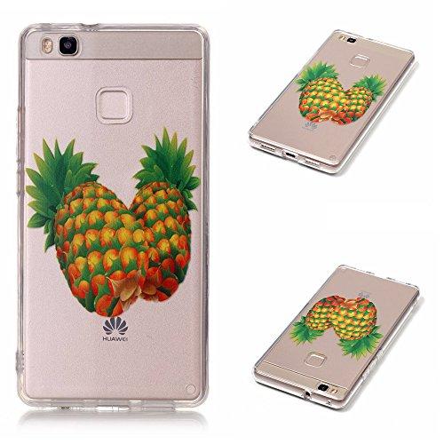 TUOTR Coque Housse Etui pour Huawei P9 Lite (Ecran: 5,2 pouces) Coque en Silicone,Huawei P9 Lite Silicone Coque Housse Transparent Etui Gel Slim Case