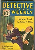 Detective Fiction Weekly. Oct. 15, 1932.