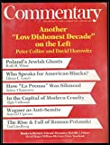 img - for Commentary: Vol. 83, No. 1 (January 1987) book / textbook / text book