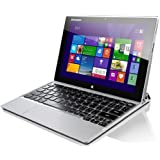Lenovo MIIX 2 25,6 cm (10,1 Zoll FHD IPS) Tablet-PC (Intel Atom Z3740, 1,86GHz, 2GB RAM, 64GB eMMC, Touchscreen, Win 8.1) silber