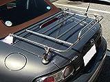2005年8月以降マツダNCロードスター(除くハードトップ車)用ステンレス製トランクキャリア19φリンケージ付