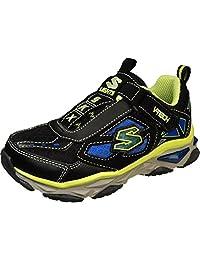 Skechers Kids 90454N Galvanized - Bosky Light-Up Sneaker (Toddler/Little Kid)