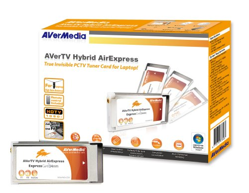 AVerTV Hybrid AirExpress H968 Analog TV, Digital TV and FM Radio Includes Remote Control