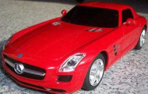 RC Mercedes Benz SLS AMG – Maßstab.: 1:24 – ferngesteuert – komplett Set – Farbe.: rot – LIZENZ-NACHBAU günstig kaufen