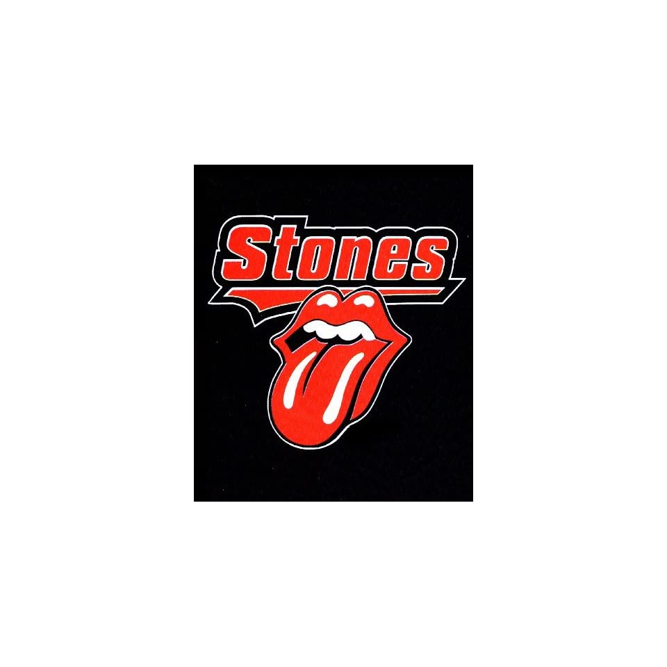 Rolling Stones Baseball Logo Fleece Throw #9