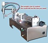 Yoli® 110v/220v Water Oil Shampoo Beverage Liquid Filling Filler Machine with Bottle Capper,single Head, 1000ml