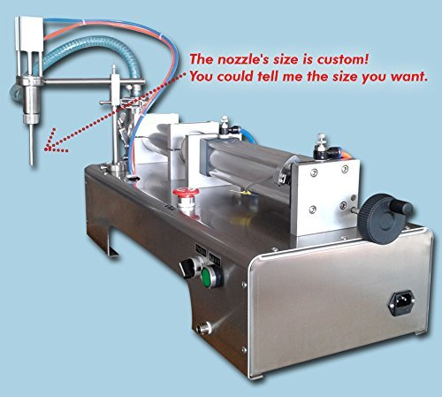 Yoli® full Pneumatic Liquid Filling Machine for Shampoo,oil,water,perfume,one Head Liquid Filler with Bottle Capper 10-100ml