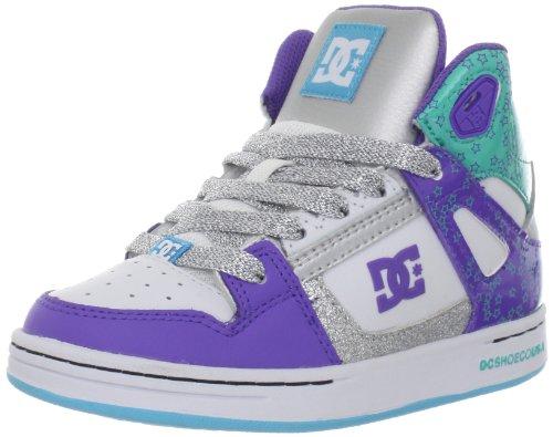 Dc Shoes Rebound B - Sneaker, , taglia, - White/M Silver, 36 2/3 EU