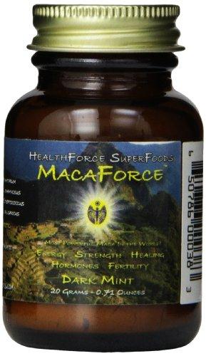 Healthforce Macaforce Dark Mint Powder Trial, 20 Grams