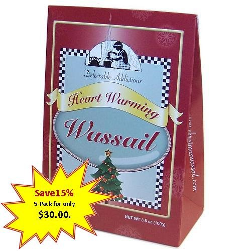 Heart Warming Wassail Mix Gift Box 5-pack
