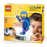 LEGO Spaceman Torch And Nightlight, Blue/White (Colors Vary)