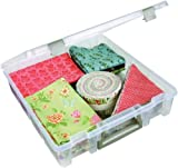 ArtBin 6955AB Super Satchel 1-Compartment Box, Translucent Clear