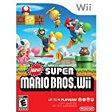 Nintendo New Super Mario Bros - Action/Adventure Game - Wii