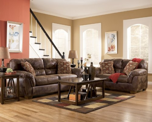 Buy Low Price AtHomeMart Canyon Sofa, Loveseat, Chair, and Ottoman Set (ASLY3090038_3090035_3090023_3090014_4PC)