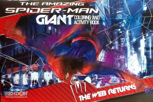 Giant 11 x 15 Coloring & Activity Book: The Amazing Spider-man! The Web Returns. 24 Pages!!!
