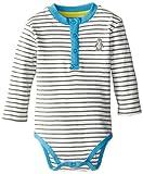 Kitestrings Baby-Boys Newborn Baby Boys Cotton Interlock Bodysuit